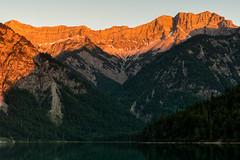 Plansee, Tirol-5122 (Holger Losekann) Tags: breitenwang tirol sterreich at berge mountains sonnenuntergang sunset wasser water lake see bergglhen spiegelung austria landschaft landscape berg mountain