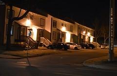 Elizabeth Court (Ultrachool) Tags: canada night lights newbrunswick residential saintjohn