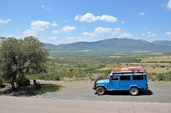 Parque Nacional de Cabañeros, also mentioned the Serengeti of Spain [Spain] (babakotoeu) Tags: car jeep offroad 4x4 toyota land series 40 landcruiser cruiser troopy bj40 40series bj45