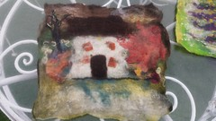 20160706_154914 (Quirky Workshops) Tags: felt art felting quirky workshops marieke tomlin greystoke cycle cafe cumbria ullswater