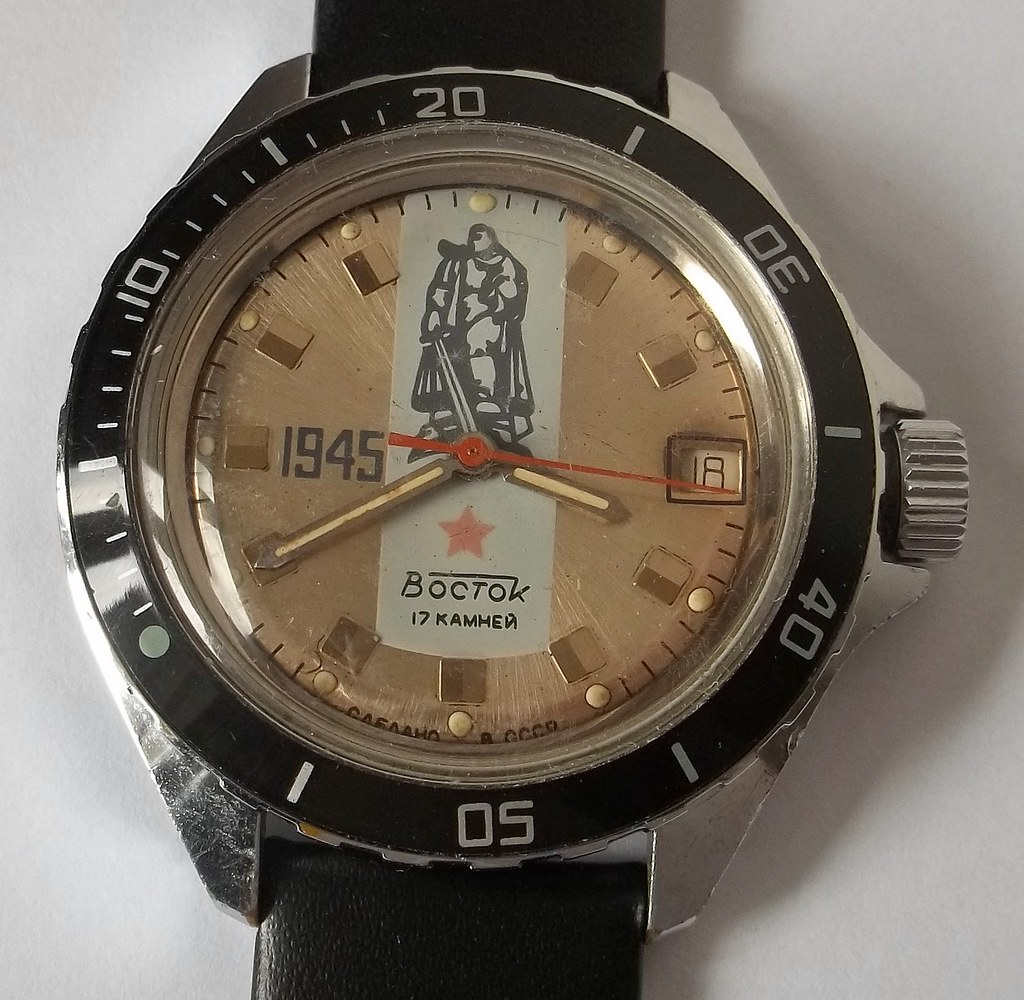 The World's Best Photos of vostok and watch