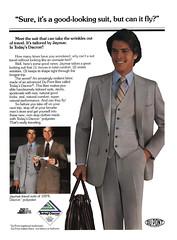 1979 Dacron Suit by Jaymar (Tom Simpson) Tags: 1979 dacron suit jaymar vintage fashion 1970s 1970sfashion man menswear threepiecesuit businesssuit businessman ad ads advertising advertisement vintagead vintageads polyester