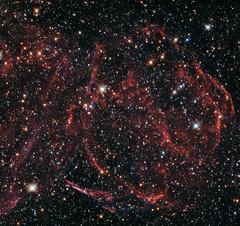 A long-dead star (europeanspaceagency) Tags: deml316a hubblespacetelescope esa nasa supernova largemagellaniccloud milkyway deadstar explosion ionisation whitedwarf