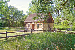 Teddy's Cabin (breann.fischer) Tags: nps100 nationalparks theodorerooseveltnationalpark northdakota greatplains badlands teddyscabin theodoreroosevelt nd2016contest cabin rusticcabin