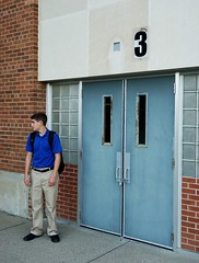 Locked Up (michaelhebert2) Tags: outdoor school locked