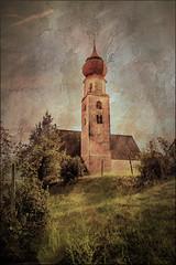 * (clo dallas) Tags: chiesa church kirche paesaggio landscape outdoor canon eosm texture paint sky