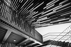 Kure City Ondo Civic Center (spiraldelight) Tags: tse17mmf4l eos5dmkii hiroshima  kengokuma  kure  ondo