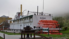 DSC09272 (2) Keno (Allen Woosley) Tags: keno dawson city yukon river territory restoration preservation stern wheeler steam ship
