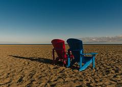 End of season 2 (Yewbert The Omnipotent) Tags: toronto canada lightroom city beach urban chairs light shadow colour colourful nikon