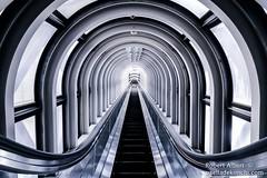 Umeda Sky Building (Robert Albert) Tags: osaka umeda sky building city mechanical stairs japan japanese symmetrical canon 70d