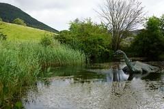 ' Nessie', Drumnadrochit, near Loch Ness, Scotland, UK, 9/2012 (SteveT0191) Tags: scotland holiday2012 uk drumnadrochit monster nessie lochness flickr lochnessmonster