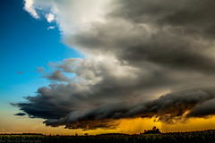 August 16 2016 gorgeous storm (Dan's Storm Photos & Photography) Tags: skyscape skyscapes sky shelfcloud shelf storms updraft updrafts landscape landscapes cumulonimbus clouds convection cumulus crepuscular crepuscularrays cloud cumulusclouds anvil anvils thunderstorm thunderstorms thunderhead thunderstormbase thundershower