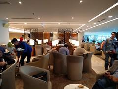 Lounge space (A. Wee) Tags: jakarta  indonesia  airport  cgk soekarnohatta terminal3 garudaindonesia lounge