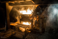 All Your Steel: Smelter (UJMi) Tags: iron lahore pakistan steel steelmill fire industrial night sony nex nex7 electric furnace smelter hardwork ironwork idustry