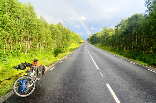 On the Wilderness Road (Vildmarksvägen)