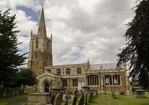 Harlaxton, Ss Mary & Peter church