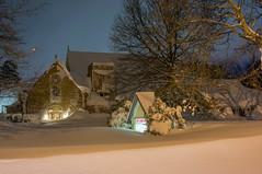 Historic Lake Effect Snow Hits Buffalo New York Area (Anthony Quintano) Tags: november winter snow weather buffalo nationalguard upstatenewyork nys lakeeffect wx 2014 cityofbuffalo