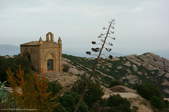 Back from Espana! (Patrick Dirden) Tags: old mountains abandoned church spain sandstone europe catalonia montserrat santjoan montserratmountain ermitadesantjoan catalanprecoastalrange santamariademontserratabbey