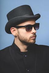 Robijs (mgreidans) Tags: portrait man matrix beard glasses nikon headshot nikkor 80200 theame