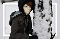 WINTER I (「. ʟ ᴏ s ᴛ 」) Tags: winter snow sae bjd balljointeddoll dollstown migidoll migidollryu
