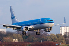 PH-BGA B737-8K2 KLM - Royal Dutch Airlines (kw2p) Tags: canon landing boeing glasgowairport klmroyaldutchairlines egpf canoneos7d b7378k2 phbga egpfgla kennywilliamson cn375932569 kw2p