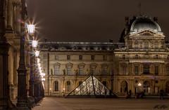 Paris - Louvre (CarolineALEXANDRE) Tags: paris night canon nuit canon50mm18 poselongue kraw eos70d