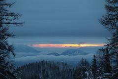 Sunrise in N. Idaho