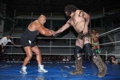 IMG_9152 (Black Terry Jr) Tags: star blood mask wrestling navarro lucha libre sangre oro mascaras consejo hechicero cmll llaveo