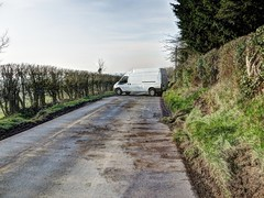 Van crunch (Ali-Berko) Tags: white ice crash buckinghamshire january van chilton 2015 project365