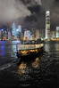 Star Ferry and Hong Kong (the.bryce) Tags: ferry night hongkong starferry victoriaharbour hongkongbay