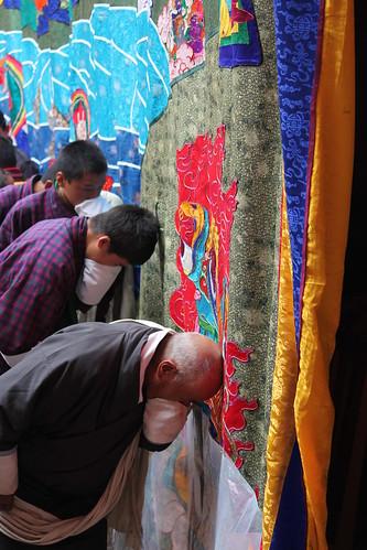 Jakar tshechu, washing away sins