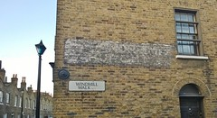 London 10 December 2014 046 (paul_appleyard) Tags: london church windmill sign st december andrews walk ghost waterloo southwark se1 2014
