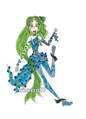 Bubble Muted Sirenix (winxeric97) Tags: ocean sea art fashion club design underwater drawing bubble marker copic winx sirenix