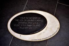 David Helfgott plaque (phunnyfotos) Tags: plaque nikon pavement australia melbourne victoria southbank sidewalk vic pianist footpath hamerhall davidhelfgott artscentremelbourne d5100 nikond5100 phunnyfotos