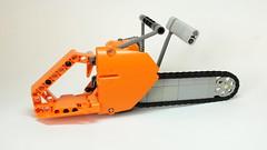 Lego Technic Chainsaw (updated version) (hajdekr) Tags: motion saw engine chainsaw tools chain chainlink technic tool moc legotechnic myowncreation legointerest