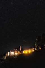 Shooting Star over the Lodge (AnnaPirata) Tags: arizona grandcanyon northrim grandcanyonnationalpark grandcanyonlodge fujixe1