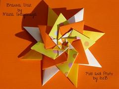 Zhanna Star by Maria Sinayskaya (esli24) Tags: weihnachten seasons stern origamistar neuesjahr papierfalten mariasinayskaya origamistern esli24 ilsez zhannastar zhannastern