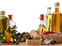 Olive Oil (BestAtLowest INDIAS #1 Online Grocery Portal) Tags: red food green horizontal lunch outdoors photography leaf europe day olive sausage gourmet mozarella meal garlic oliveoil deco herb salami freshness cuttingboard chilipepper ingredient italiancuisine healthyeating olivebranch groupofobjects colorimage italianbread largegroupofobjects cookingoil gastronomic healthylifestyle italianculture europeancuisine europeanculture landscapebackground largegroupofobjectseuropeancuisine