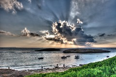 Tramonto a S'Archittu (socrates197577) Tags: sardegna nikon tramonto nuvole mare hdr paesaggio photomatix