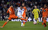 7EME JOURNEE DE LIGUE 1 : OL LORIENT LE 24 SEPTEMBRE 2014.SCORE 4-0   buts LACAZETTE 5e, Fekir 39e 68e, Njie 50e