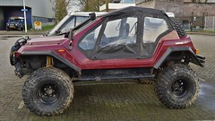Dakar 4x4 Kitcar (sjoerd.wijsman) Tags: auto red holland cars netherlands car rotterdam 4x4 nederland thenetherlands voiture vehicle holanda dakar autos suv import rood paysbas olanda kitcar fahrzeug niederlande zuidholland carspotting redcars ommoord carspot dakar4x4 rotterdamommoord 25122014 sidecode6 86gjtd