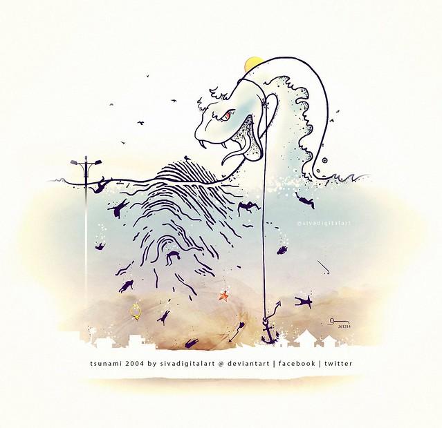 Tsunami Memorial Day 2014.