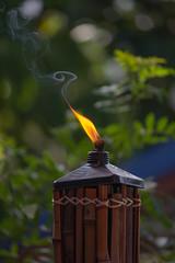 Citronella Candle flame (WhittneyMareePhotography) Tags: candle smoke burning flame swirl