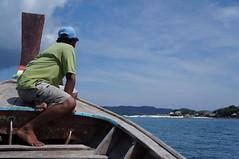 Khai Nok Island (wandereringJ) Tags: travel summer beach thailand islands boat asia long longboat wandering islandhopping kohyao