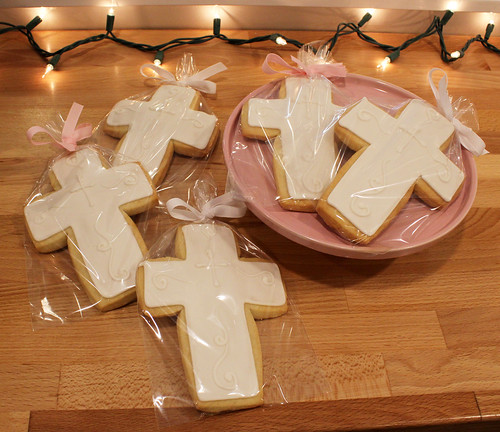 Christening Sugar Cookie Favors