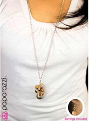 5th Avenue Yellow Necklace K2A P2320-4