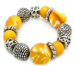 Sunset Sightings Yellow Bracelet P9440-4