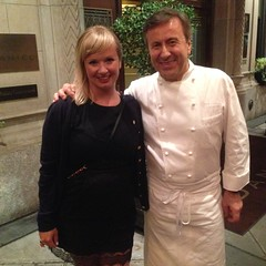 Anette and Daniel Boulud.
