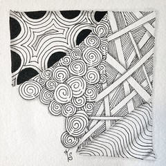 Took my first #zentangle with Sue Clark of Tangled Ink this afternoon. This was the first time I used and official tile! 2015-018 (kurki15) Tags: square squareformat zia zentangle zendoodle iphoneography instagramapp uploaded:by=instagram zentangleinspiredart 2015zentangleaday 2015zenjan