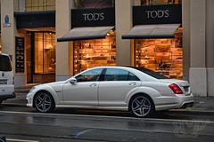 AMG S65 V8 biturbo (Bana Peter) Tags: car rain germany mnchen deutschland nikon s peter mercedesbenz tuning v8 bana amg tuned biturbo sklasse nmetorszg d5200